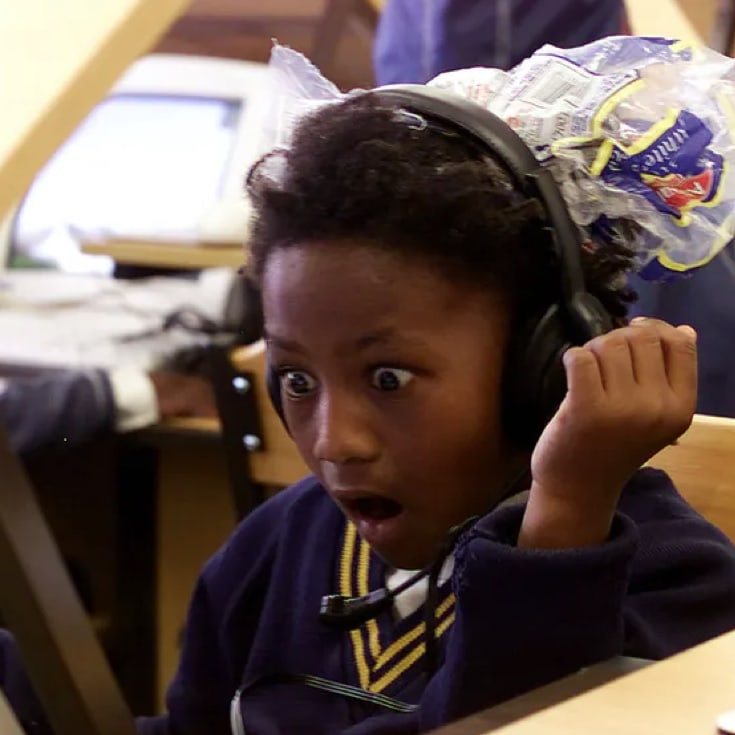 Children need to learn that science is worth getting excited about. Mike Hutchings/Reuters