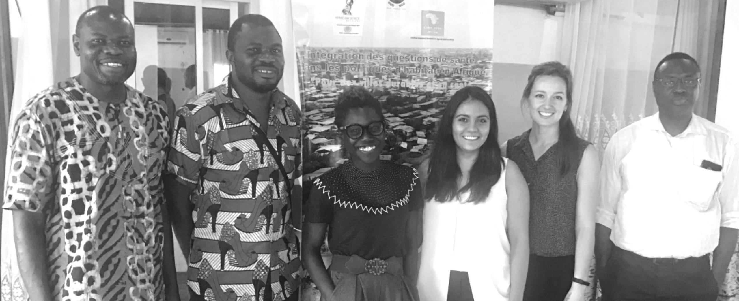 The LIRA project (2018–2020) team, led by Tolullah Oni